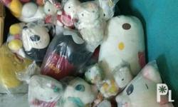 Assorted Stuffed Toys from Japan package deal na lahat