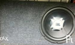 "JBL Sub 10"" Ampli 50watt 100 watt No issue Isasalpak na"