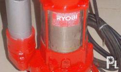 2- Horsepower RYOBI Submersible Pump, for large fish