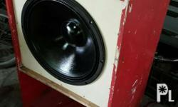"New 18"" 1000watts ""live"" woofer speaker With old box"