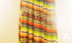 slightly used. Printed summer dress. In a very good