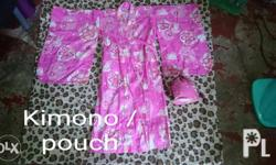 Used summer kimono for kid (girl) aged 3-5 y/o from