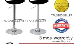Sumo BC-96BLK Bar Stool Furniture (Black) Buy 2 Take 1