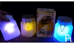 A color changing solar lamp 100php sf metro manila