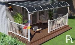 Balcony Polycarbonate Patio Cover Specification:1)Width