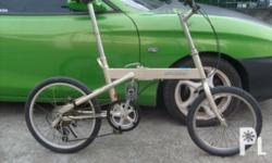 Deskripsiyon SELLING ONE OF MY FOLDING BIKE COLLECTION