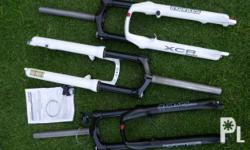 Suntour XC and AM coil fork in color white 120 mm 2480