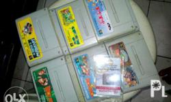 Super Famicom Games for Sale Working and Original. 300