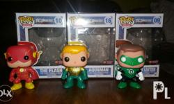 Super Heroes Funko Pop Toys (with boxes and