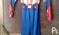 Captain America & Ironman Costumes with muscles for