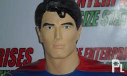 Superman Returns Brandon Routh Bust. Made out of