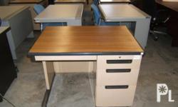 For sale Surplus Brown 100cm x 70cm Office Table