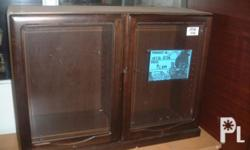 Surplus Display Wood Cabinet Japanese Brand