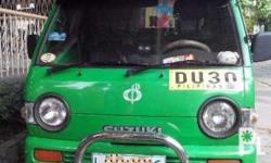 rush sale suzuki 4x4 multicab davao registered no