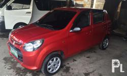 Rush sale suzuki alto 2013 mdl manual low mileage. Bank