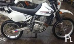 2010 SUZUKI DR 650CC But 2014 arrived and used in the