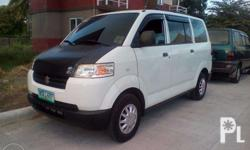 suzuki epv,2013mdl,white,manual,power