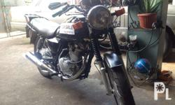 Suzuki GS150 Motorcycle also known as Mola 150 color: