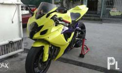 For sale or for swap suzuki gsxr k6 2006model New tires