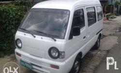 Suzuki mini van 2007 model F6 engine. Manual trans..