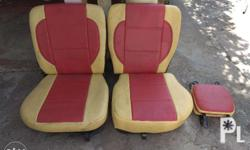 One Set 2 pairs with head rest (Seat with upholstery