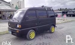 Suzuki Minivan with aircon, good for Family and