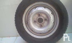 Suzuki Multicab Tire with Rims. four pieces tires and