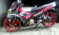 suzuki raider 2013 aquired 2014 complete papers 48k