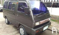 Make Suzuki Model Minivan Engine F6A 660cc Manual
