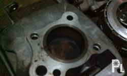 stock block for suzuki 115. piston kit included.. as