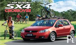 SUZUKI SX4 CROSSOVER LIMITED EDITION LOW DOWN PAYMENT