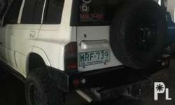 Grand vitara 2001 4x4 With steel bombers And solid axle