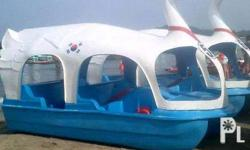 Rush swan paddle boat for sale. Made in Korea. Never