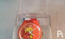 swatch choro aytomatic almost new never been use kita s