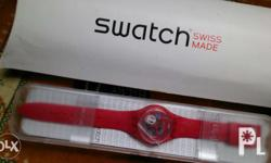 Original Swatch watch Transparent Fashionable Imported