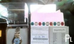 Im selling my brand new swatch stainless watch for