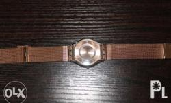 Rush Sale Pre Loved swatch watches, seldom use...