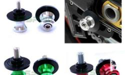 SWING ARM SPOOLS CNC FOR ALL BRAND MOTORCYCLE Available