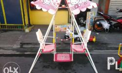 swing and slide Php 3,000 no box swing and slide Php