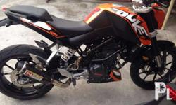 MUFFLER FOR KTM DUKE 200/DUKE 390 NOW AVAILABLE * full