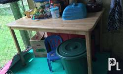 2 dining table with chair sale na po need ko na mabenta