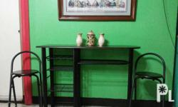 Forsale!! Table with 2 high chair. Almost new. No