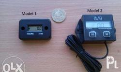 Model 1: Hour Meter function only Model 2: Both