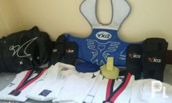 Taekwondo Equipments for only 3500 Php for 6-10 years