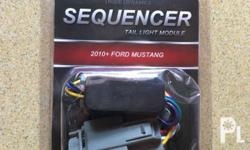 Sequencer Tail Light Module for Ford Mustang 2010-2015