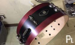 This is a limited edition custom hyperdrive snare by