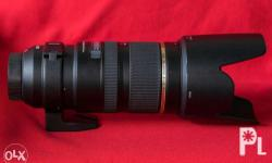 Tamron 70-200mm 2.8 Di VC USD Bought last january 2016
