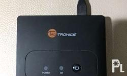 TaoTronics TT-BR02 Wireless Bluetooth Receiver Used, in