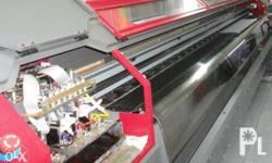 TARPAULIN PRINTER 10ft,42PL (Second Hand) Good Running