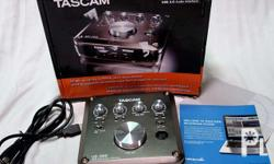 Tascam US366 USB Digital Audio Interface with DSP